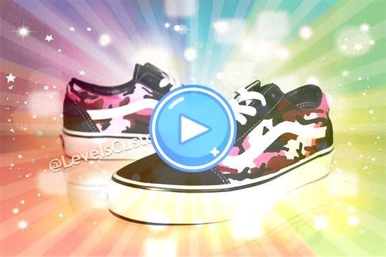 Color Camo Vans  tenis Custom Color Camo Vans  tenis  Custom Color Camo Vans Vans Old Skool Starry Starry Night Black Mens Shoes  Custom Sneaker By majorwavezz woman shoe...