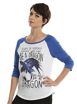 How to train your dragon be a dragon girls raglan white hot topic how to train your dragon be a dragon girls raglan white ccuart Images