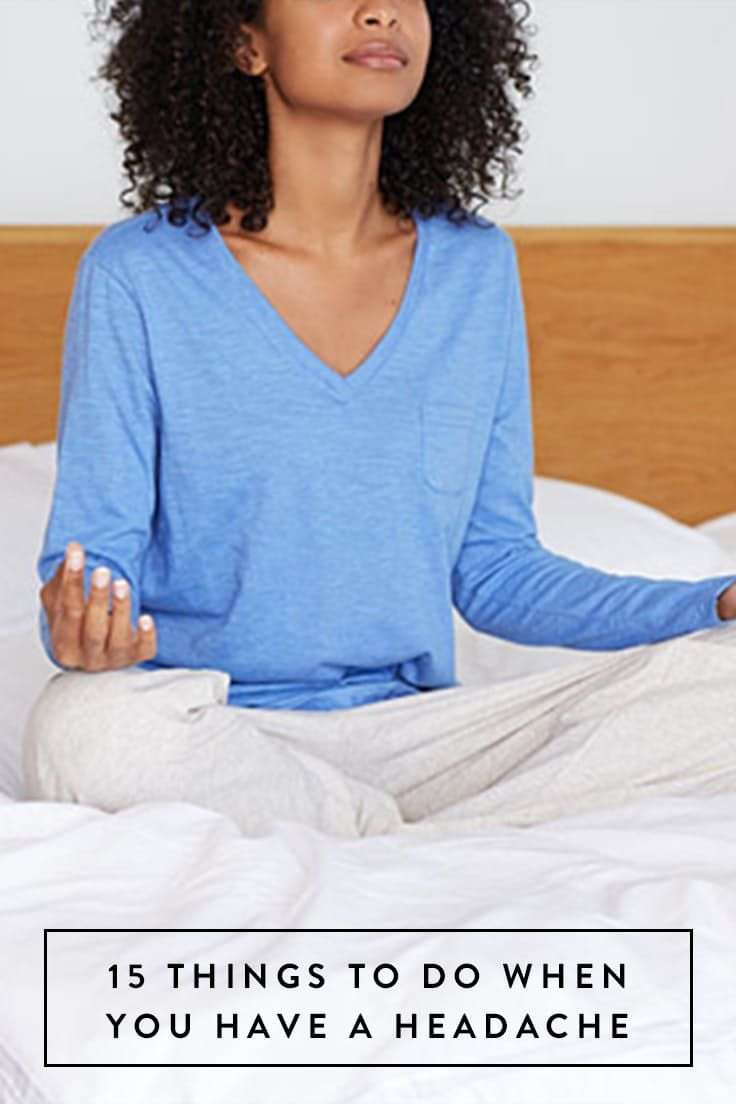 15 Things to Do When You Have the Worst Headache Ever via @PureWow #NaturalRemediesVitiligo
