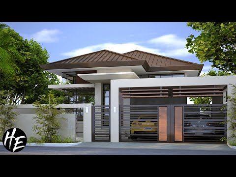 House Design Ideas l 3 Bedroom Modern Bungalow House l plete Plans