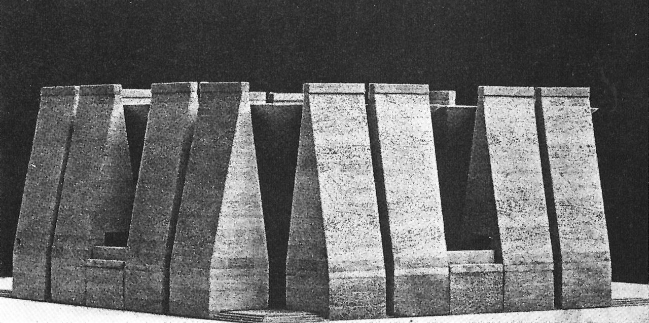 alvarovelosa 1965 louis kahn hurva synagogue jerusalem israel archiveofaffinities. Black Bedroom Furniture Sets. Home Design Ideas