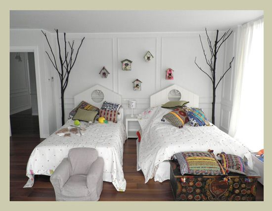 Un cabecero de cama original decoracion infantil y - Ideas decoracion habitacion infantil ...