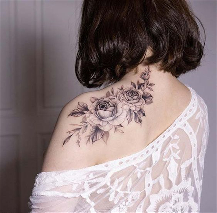 50 Gorgeous And Exclusive Shoulder Floral Tattoo Designs You Dream To Have Women Fashion Lifestyle Blog Shinecoco Com In 2020 Shoulder Tattoos For Women Floral Tattoo Shoulder Gorgeous Tattoos