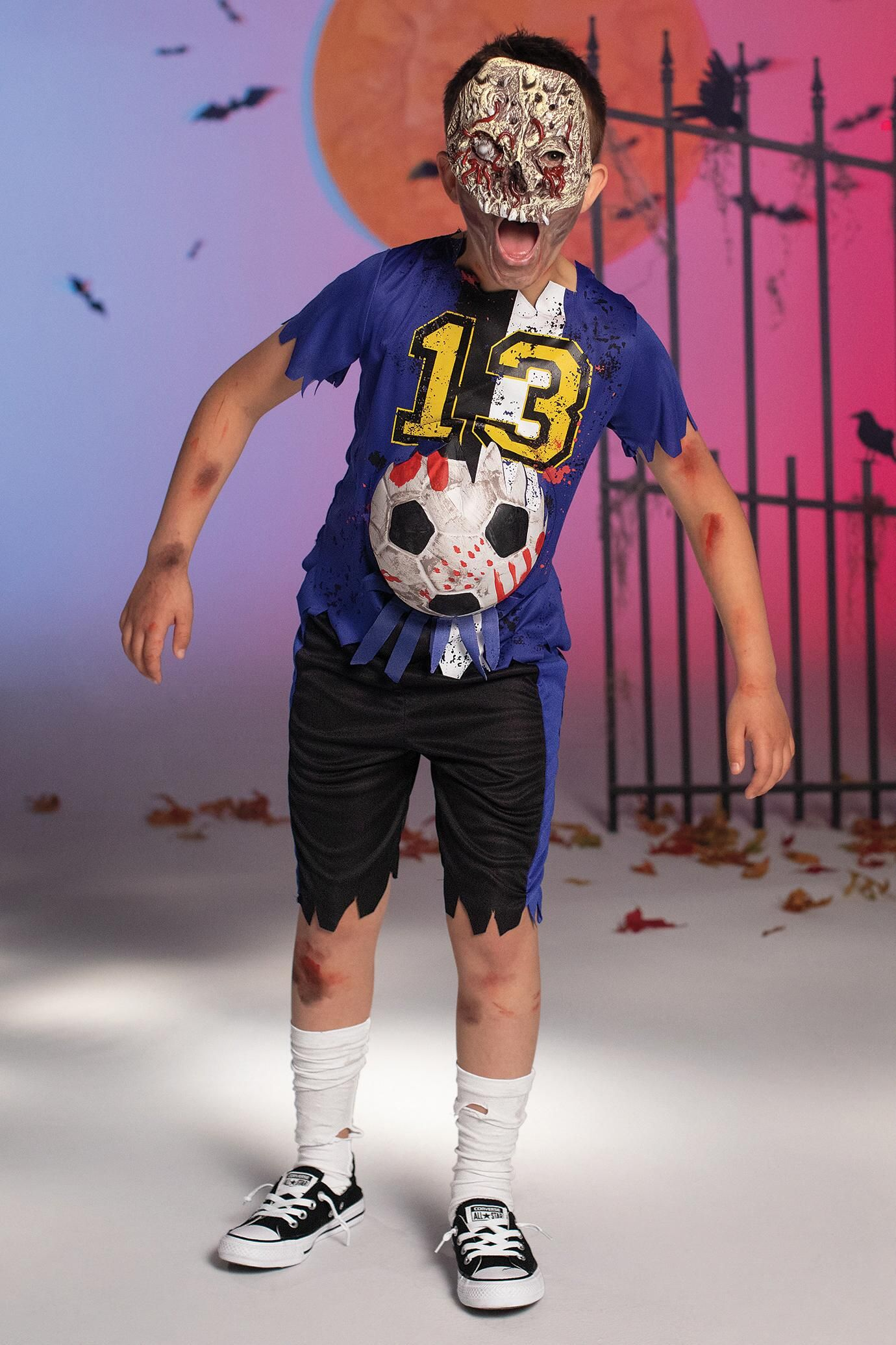 Zombie Soccer Player Costume For Kids Chasing Fireflies Soccer Player Costume Kids Costumes Firefly Fashion
