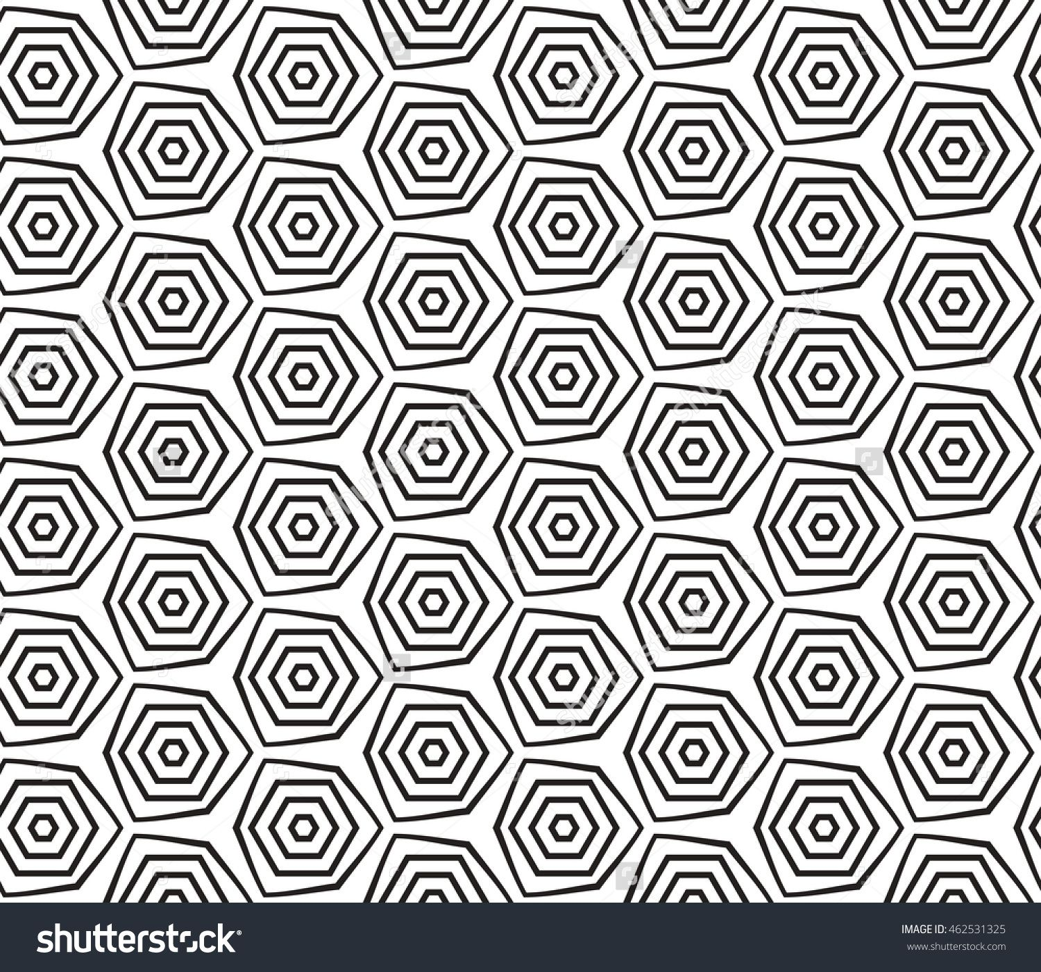 Seamless vector illustration with the image of a polygonal pattern ...