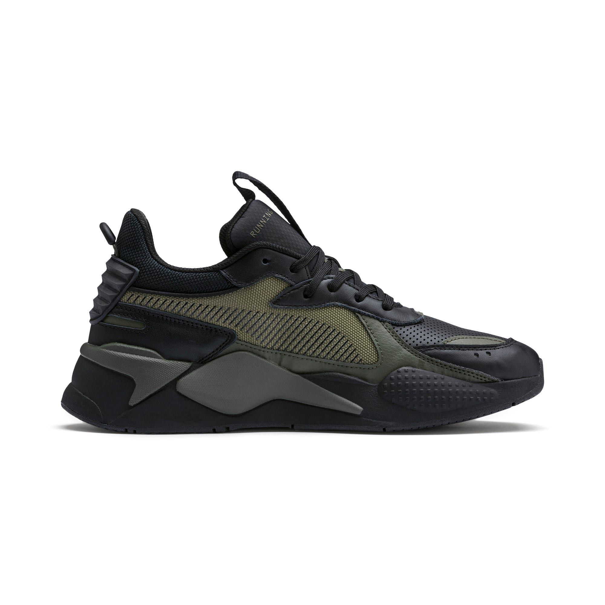 PUMA Rs-X Winterised Trainers in Black/Burnt Olive size 9.5 ...