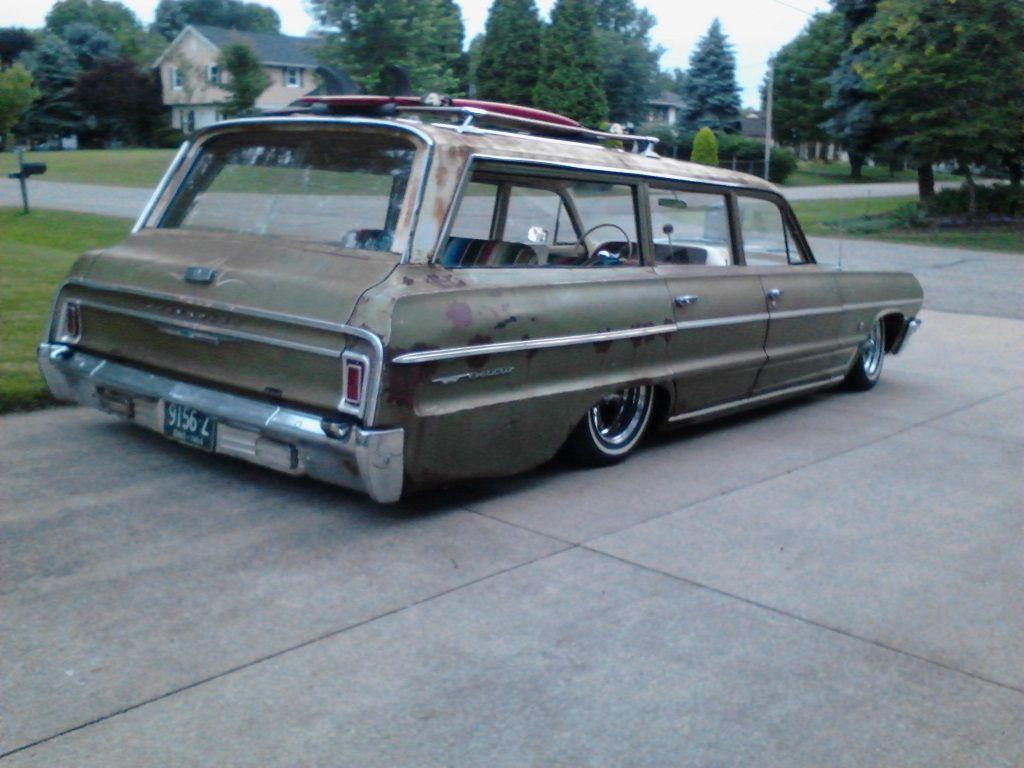 All Chevy chevy bel air 1964 : 1964 Chevy Belair - 9 Passenger | Wonderful Wagons | Pinterest ...