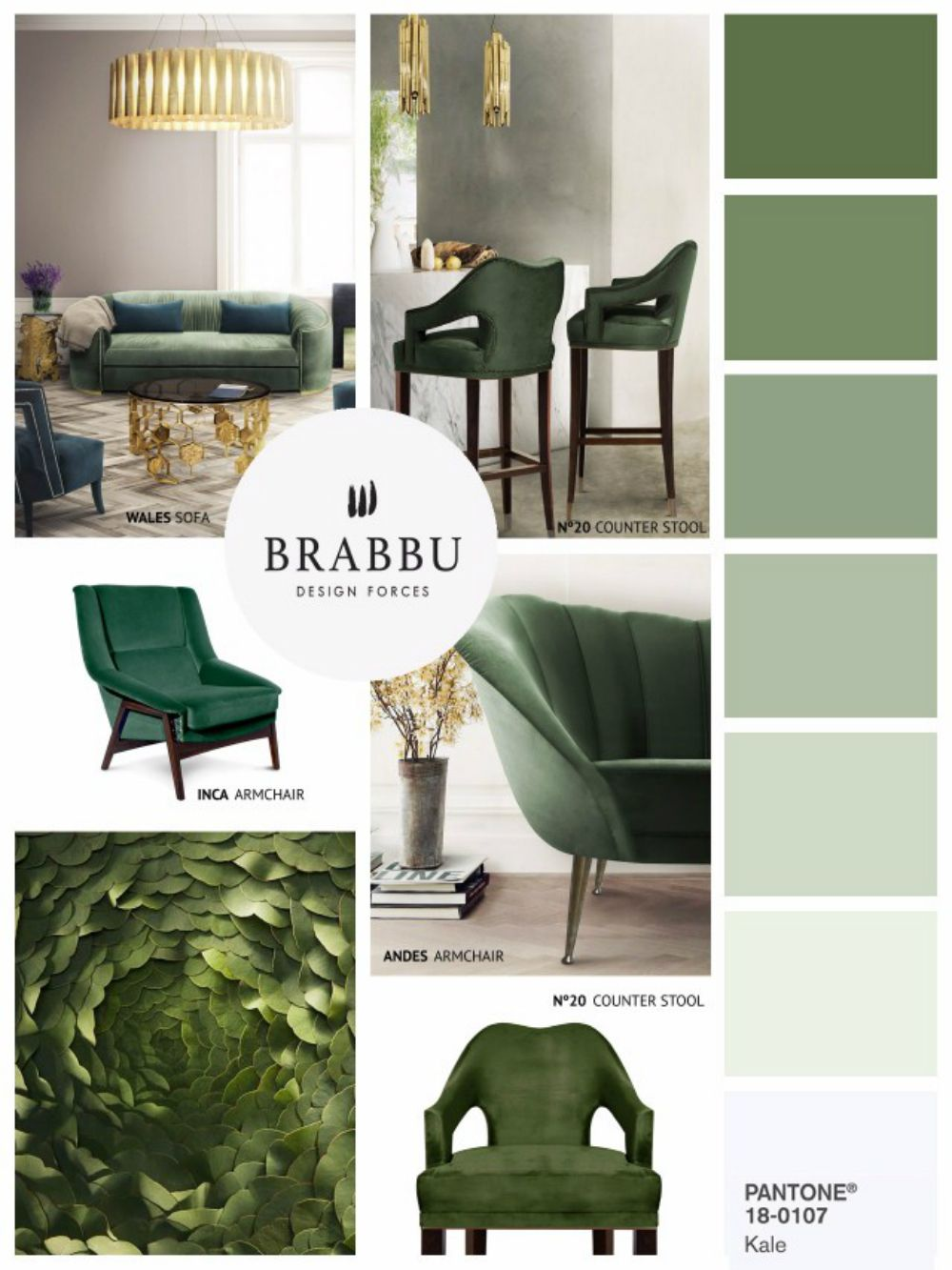 Home Decor Color trends for Spring 2017 According to Pantone | Kale ...