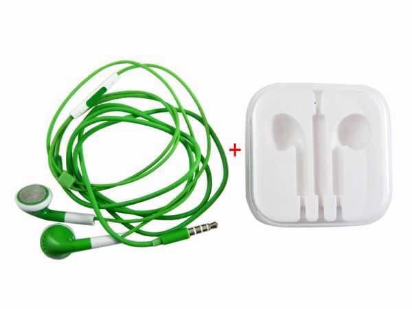 Earphone Headphones with Remote Mic for iPhone 5 4 4S iPod