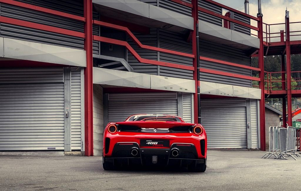 488 PistaByStijn Martens -Ferrari 488 PistaByStijn Martens -  Garage filled with luxury spo
