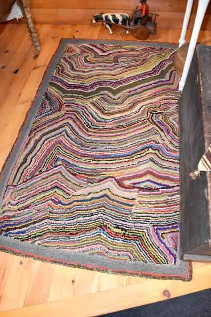 1 Yard Of Rainbow Colors Rag Rug Rugs Rug Hooking