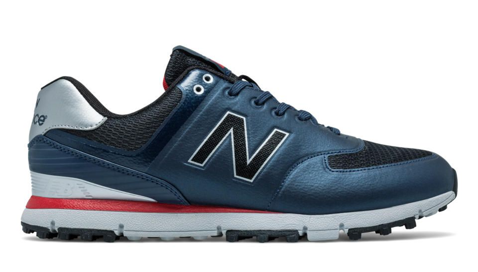 New Balance Golf 518, Navy with Red