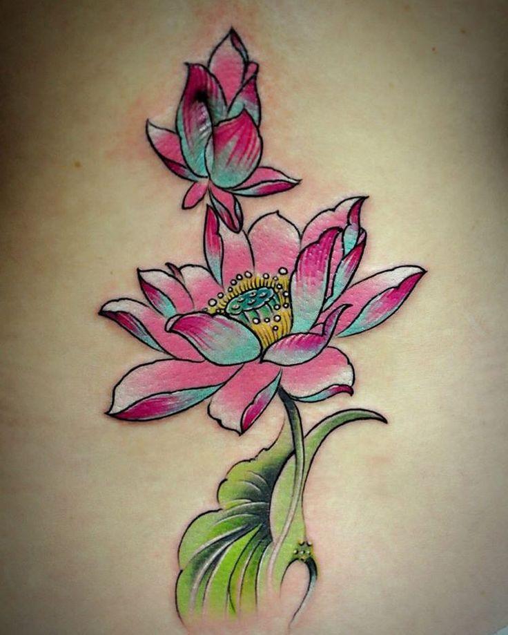 32++ Amazing Japanese lotus tattoo design ideas in 2021
