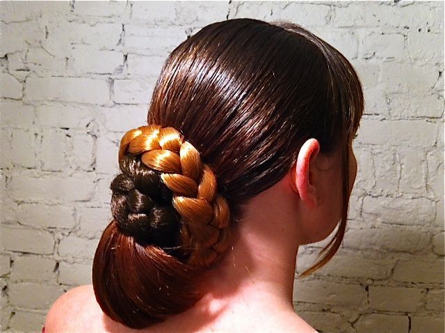 Darrell's take on a braided updo.