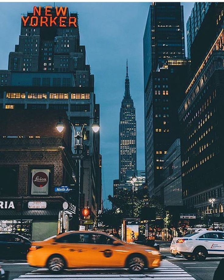 Beautiful Manhattan Photography. New York Street