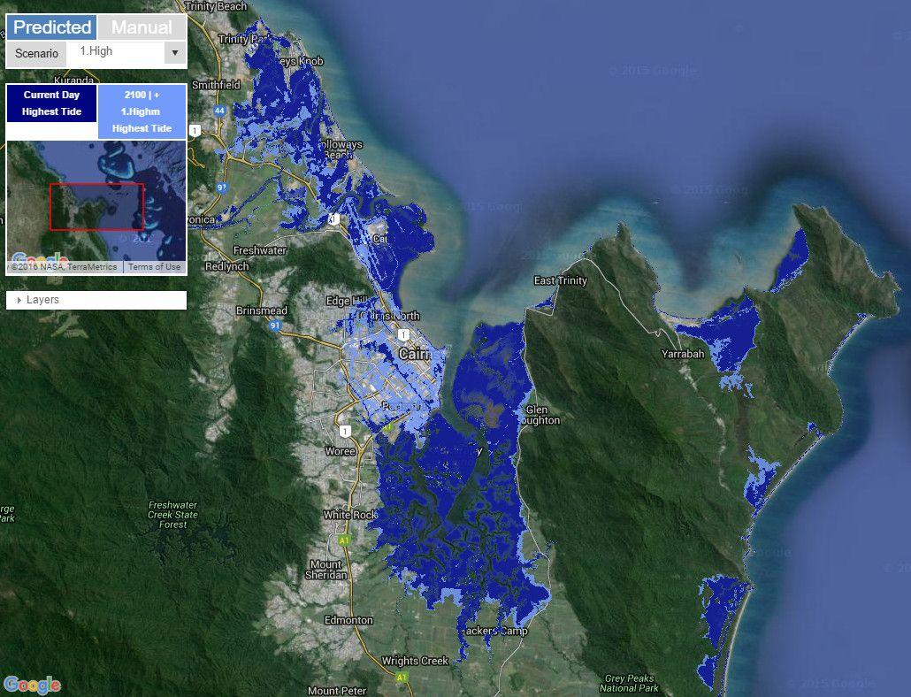 Coastal Risk Australia Vivid Maps Coastal