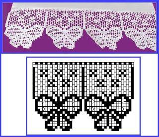 Hakeln Borte Bordure Spitzen Crochet Edging Lace Border Barrados