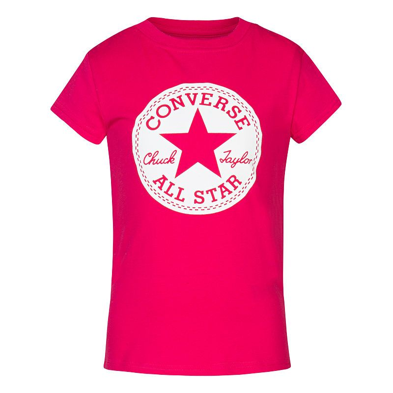 Converse Short Sleeve Graphic T Shirt Girls Preschool