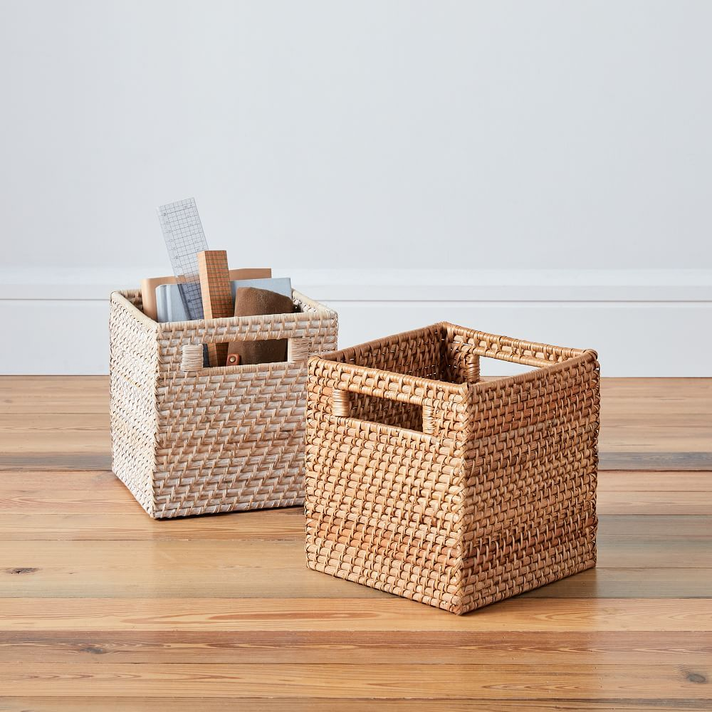 Modern Weave Storage Cubby