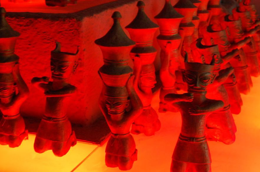 San Xing Dui Museum bei Chengdu
