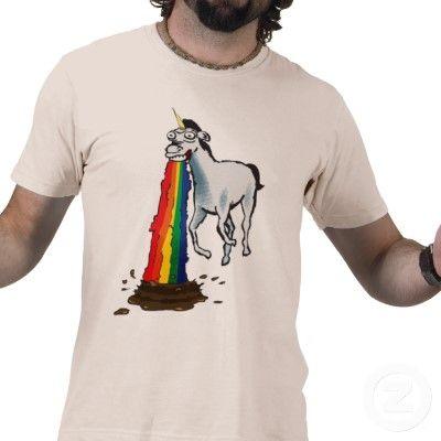 Unicorns Puke Rainbows Shirt