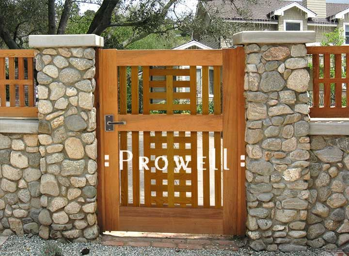 Garden gate ideas garden gate 10 1 ideas for the Wood garden fence designs