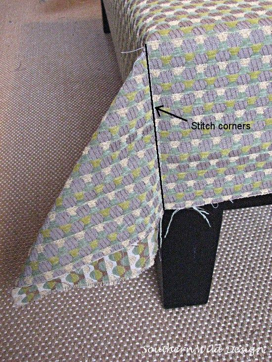How to reupholster an ottoman ottomans upholstery and craft how to reupholster an ottoman ottoman slipcoverslipcoversottoman coverdiy solutioingenieria Image collections