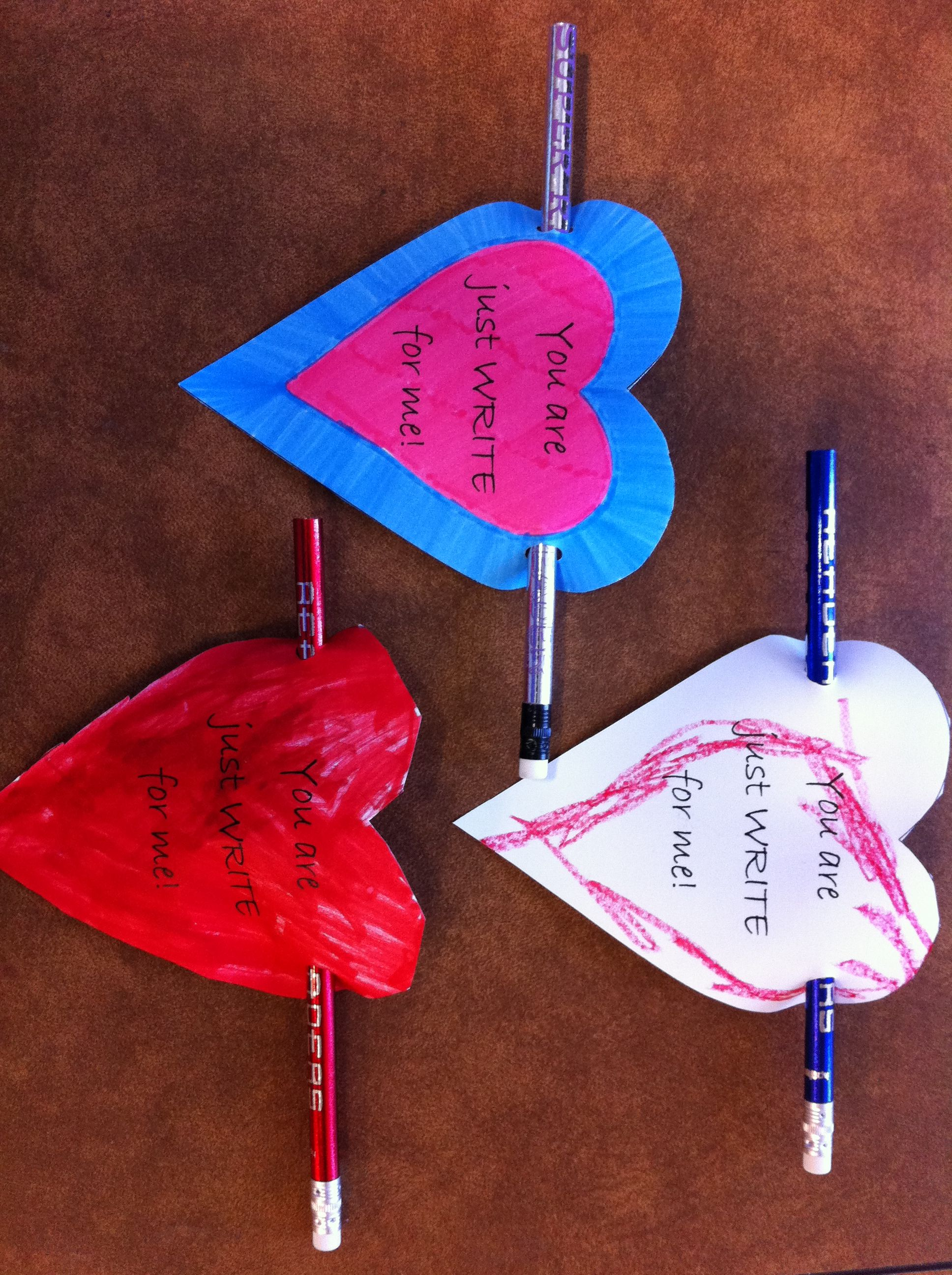 cupids pencil valentines day craft
