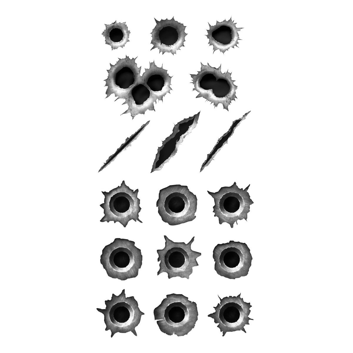 Bullet Holes Madimbu Vetores Photoshop