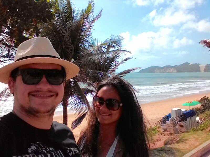 Acompanhem aqui todas as fotos e dicas do Casal Sem Rotina, numa viagem de quase 10 dias pelo Nordeste.  Esse aí foi o nosso ponto de partida: a Praia de Ponta Negra, que fica em em Natal.