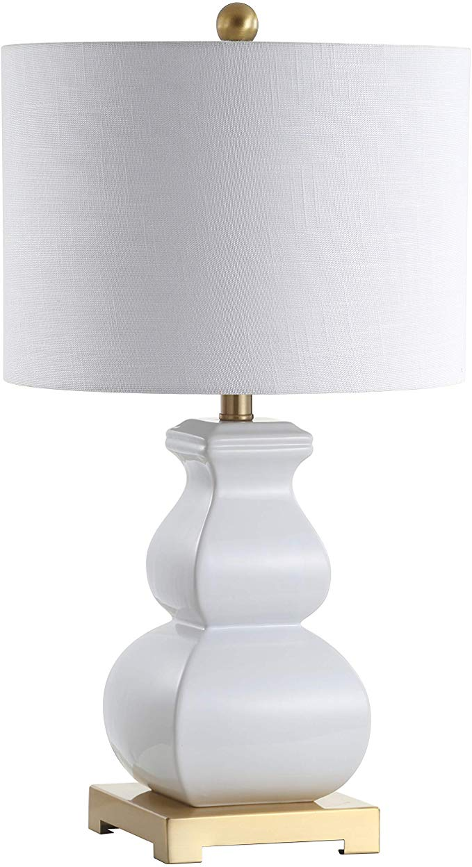 Amazon Com Jonathan Y Jyl3049b Vienna 25 5 Ceramic Table Lamp White Home Improvement Led Table Lamp Table Lamp Gold Table Lamp