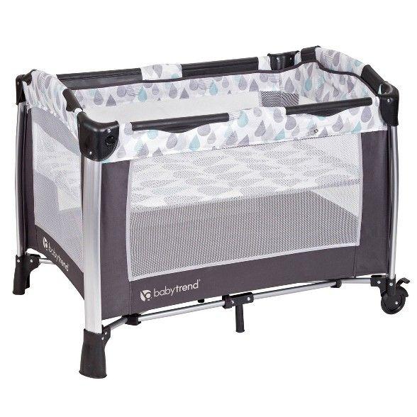 Baby Trend GoLite ELX Nursery Center Baby trend, Baby