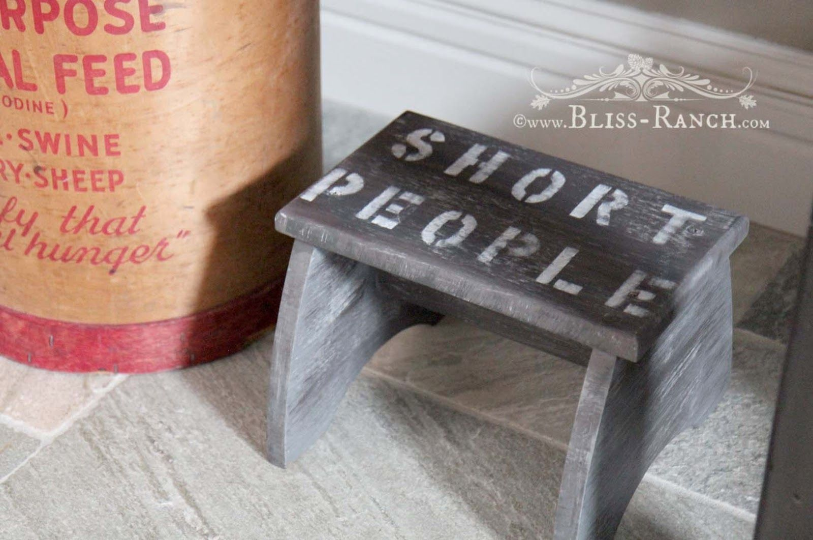 Peachy Beauty Of A Beast Step Stool Diy Stool Twig Crafts Diy Gmtry Best Dining Table And Chair Ideas Images Gmtryco