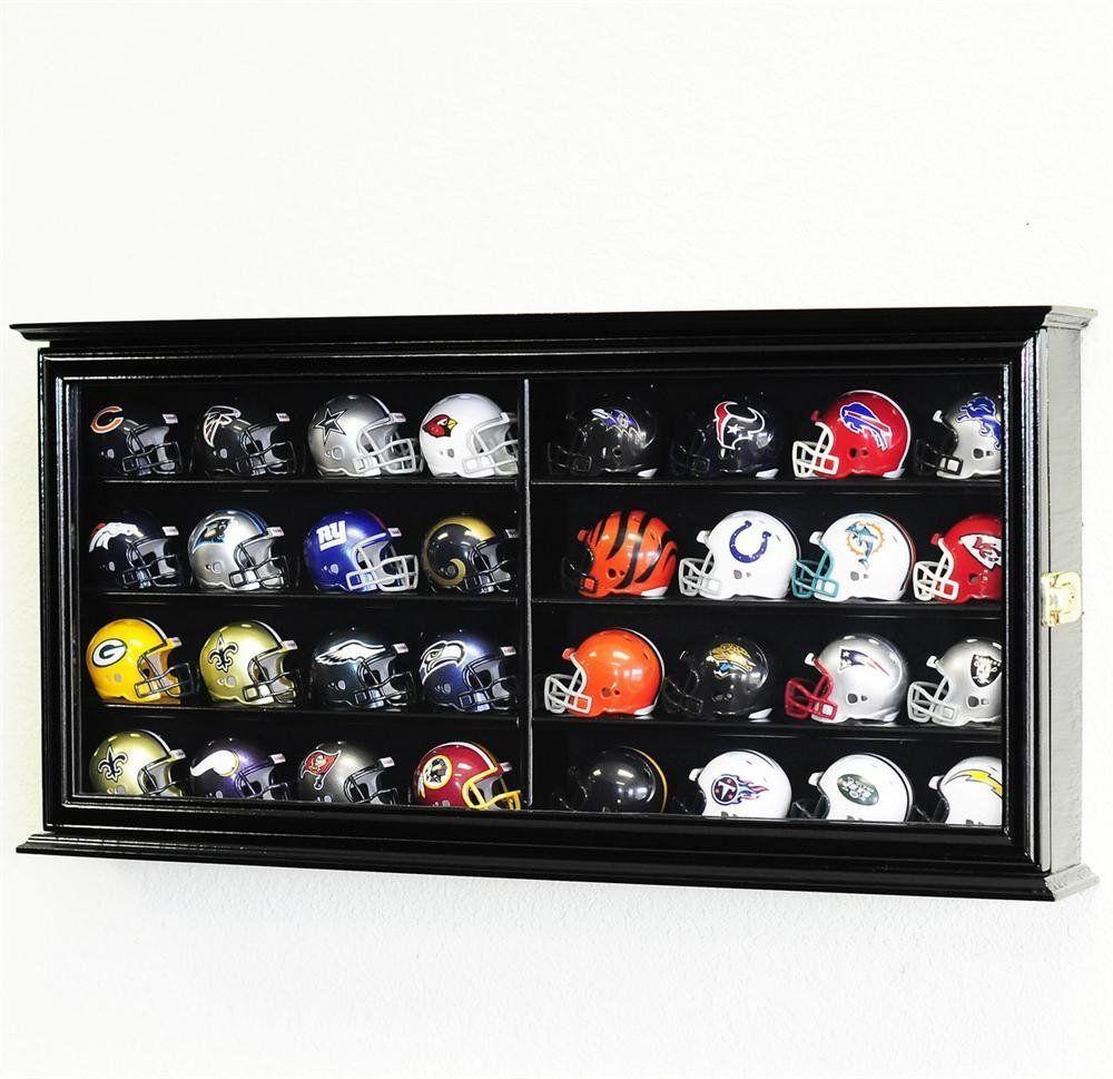 32 pocket pro mini helmet display case