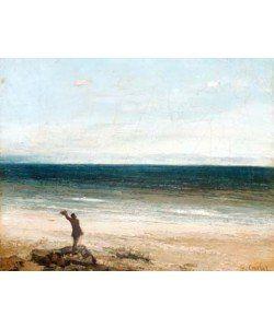 Gustave Courbet, Le bord de mer à Palavas