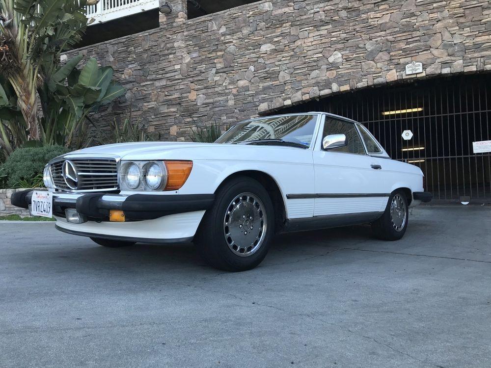 eBay: 1987 Mercedes-Benz 560SL Roadster – Fresh USA Import | 1980\'s ...