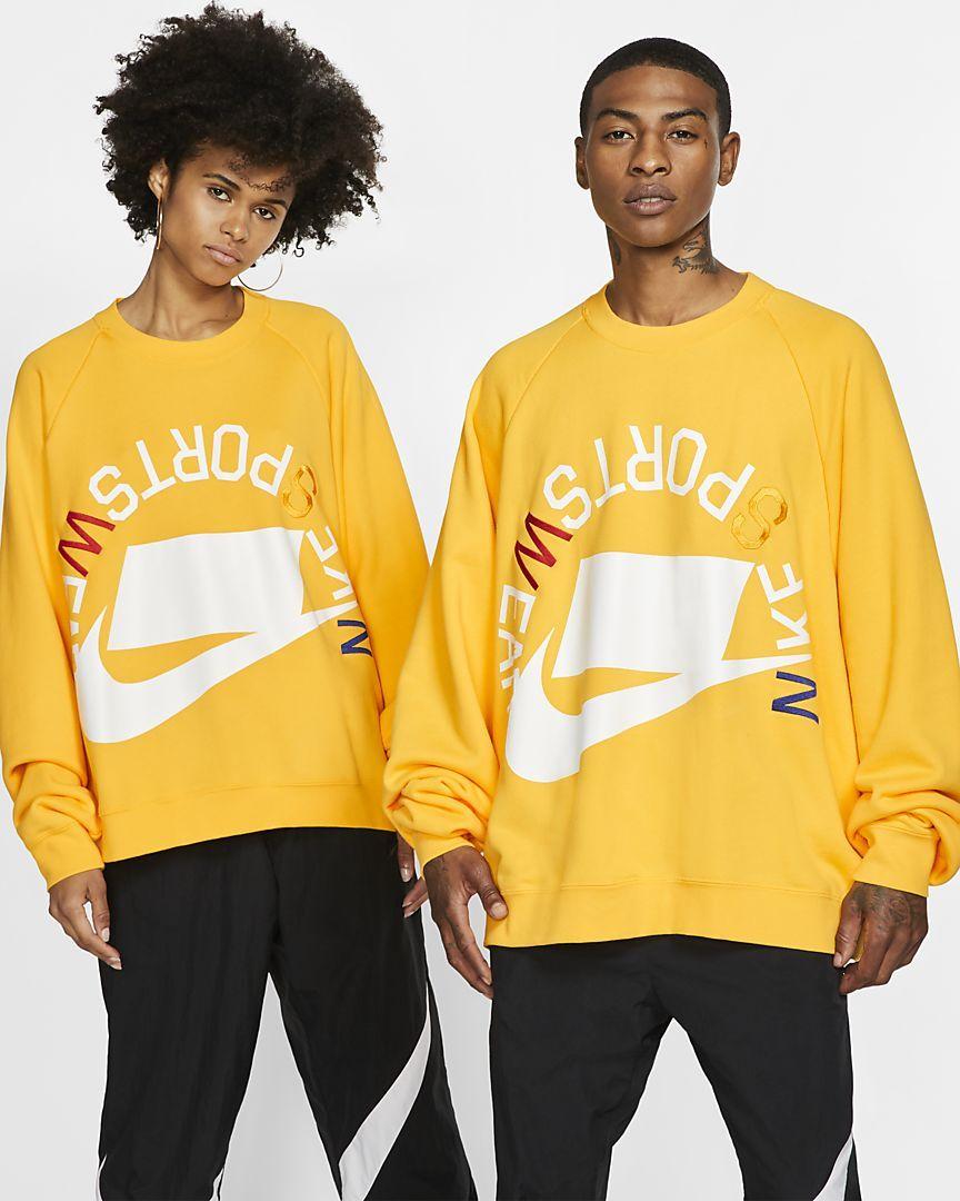 Aislar Préstamo de dinero maratón  Nike Sportswear NSW French Terry Crew. Nike.com | Sportswear, Nike  sportswear, French terry