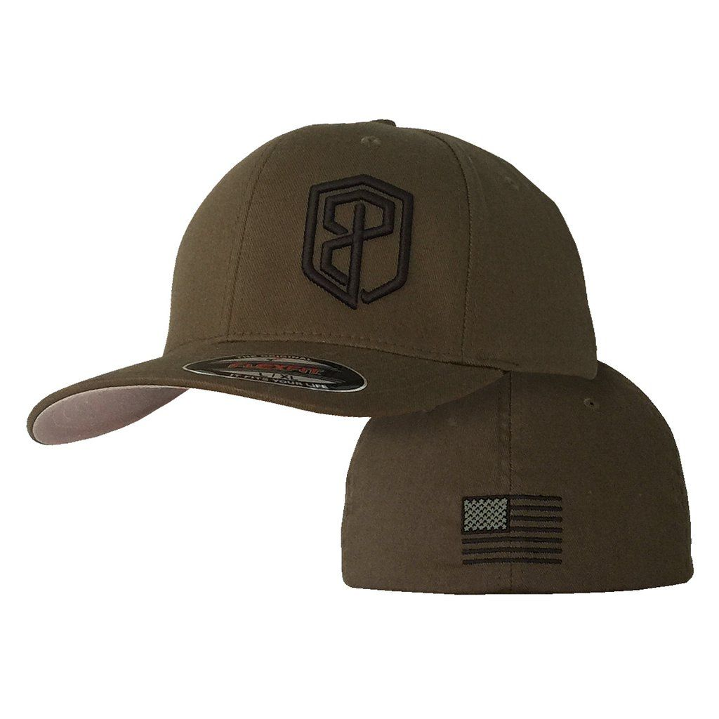Logo flexfit hat tactical green with images hats