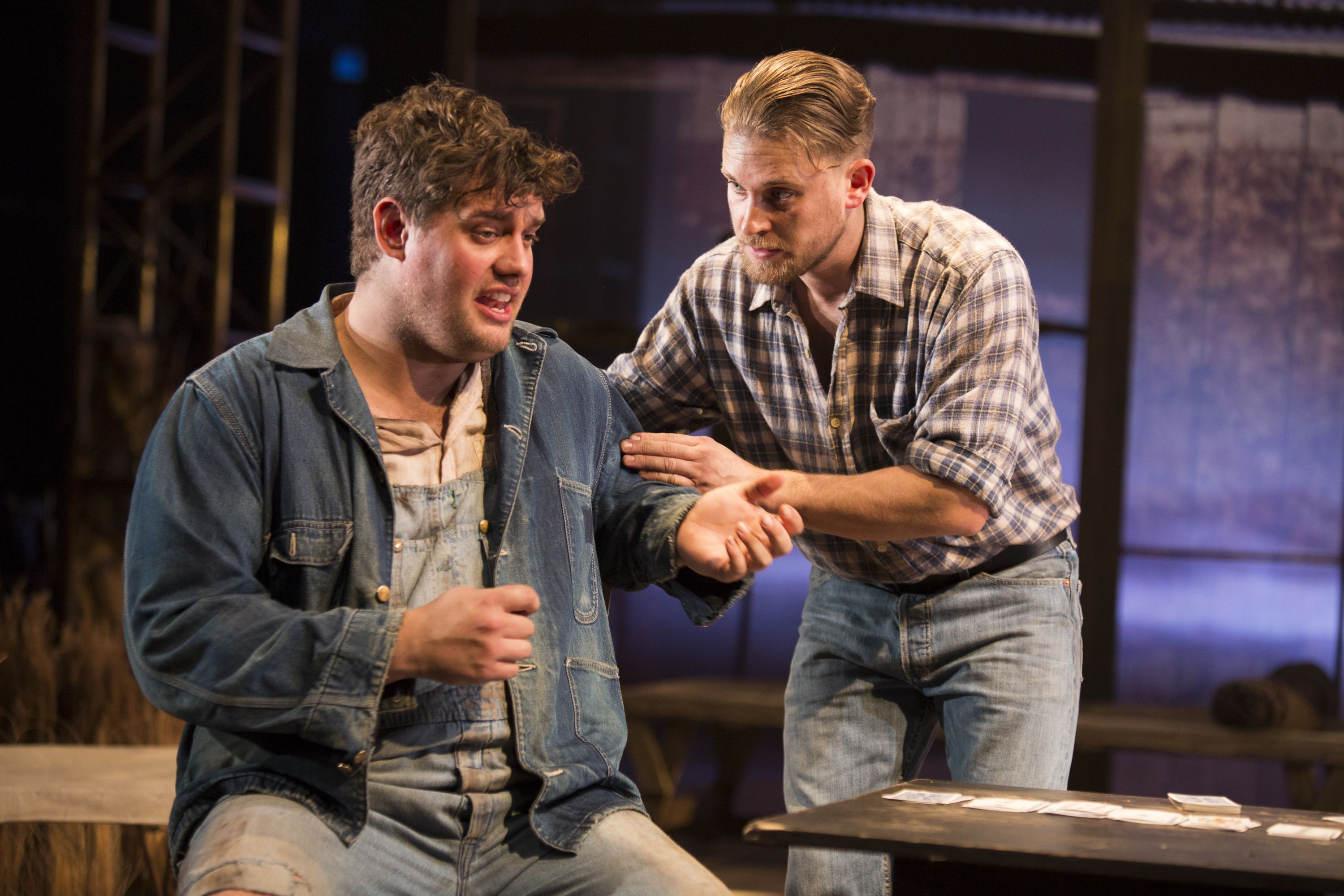 kristian phillips lennie and william rodell george in of mice kristian phillips lennie and william rodell george in of mice and men