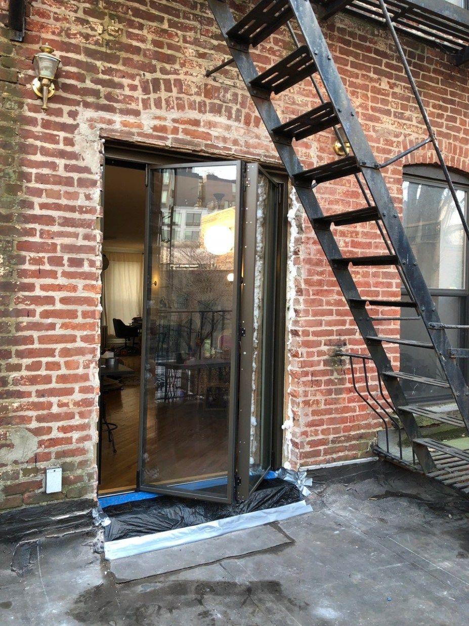Brooklyn Door Upgrade Door Upgrade Door Gate Design Folding Doors Exterior