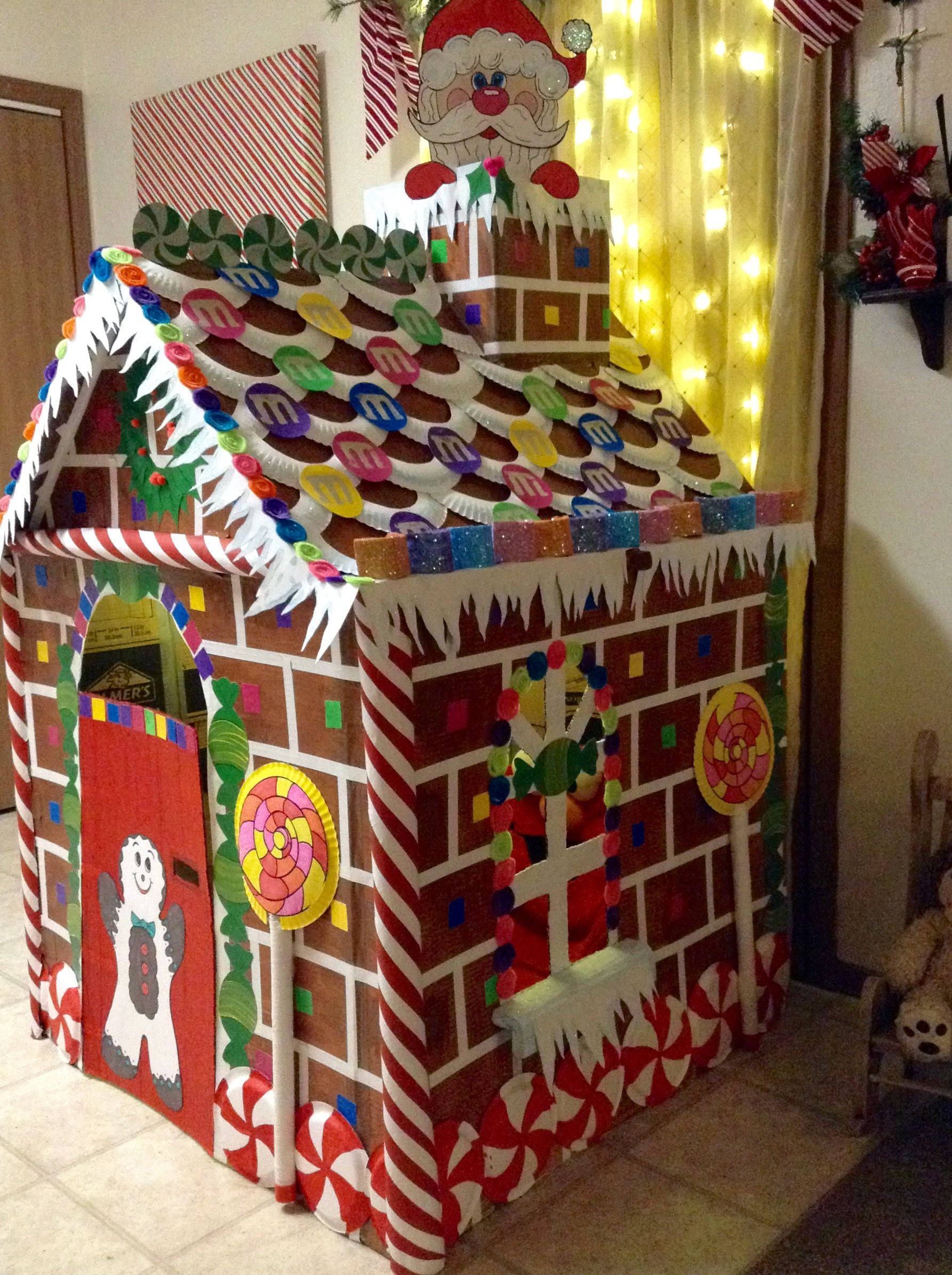 Life Size Gingerbread House Gingerbread House Decorations