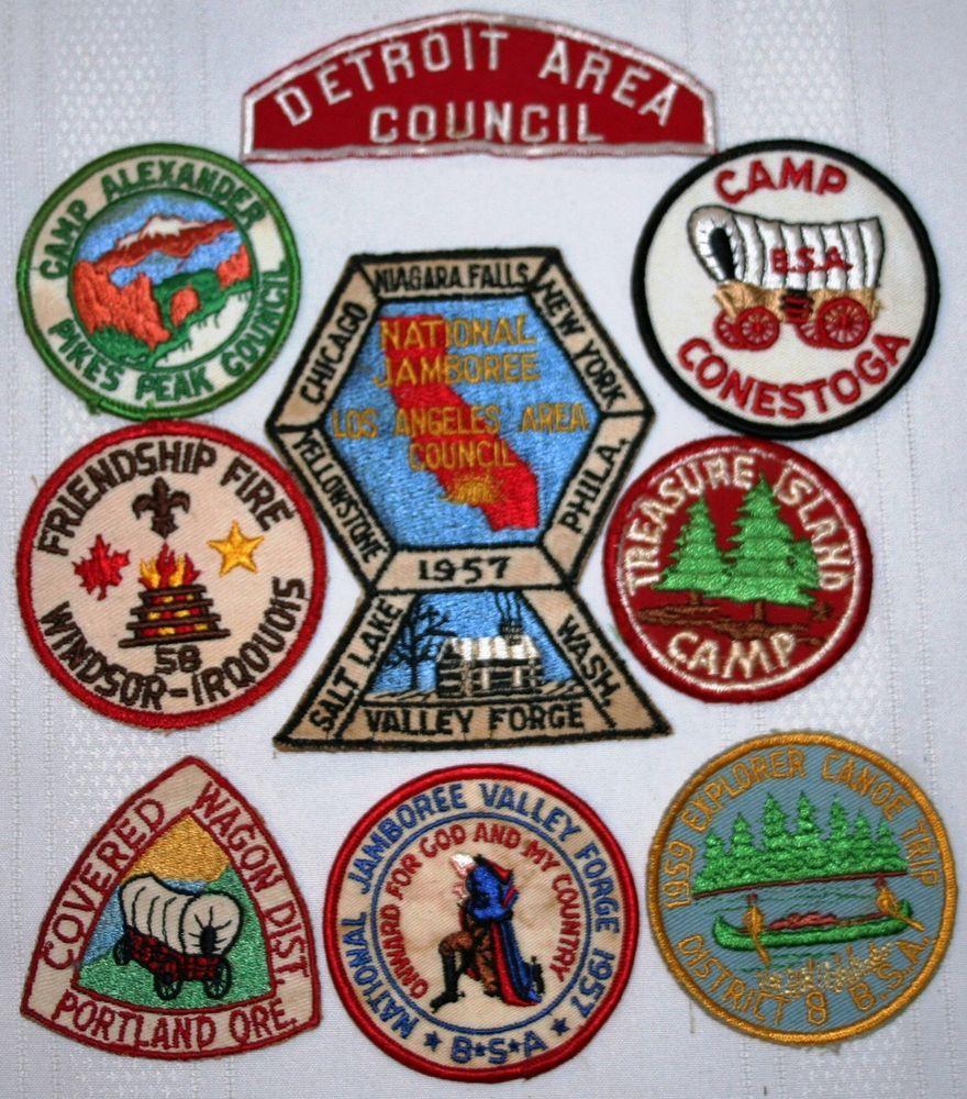 Vintage  Boy Scouts National Scout Jamboree Patch