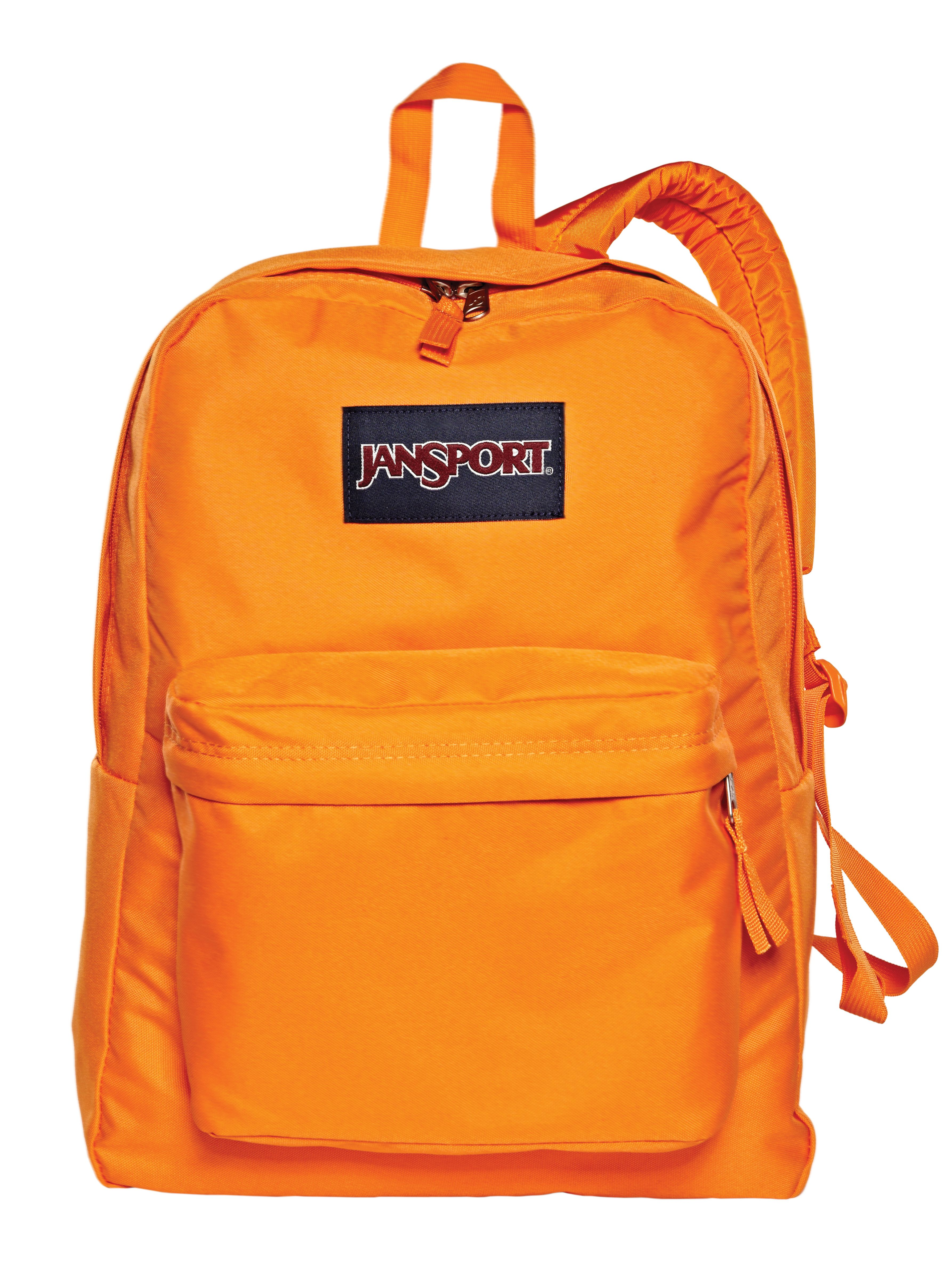 orange you glad school's back? -- orange @JanSport backpack | Kid ...