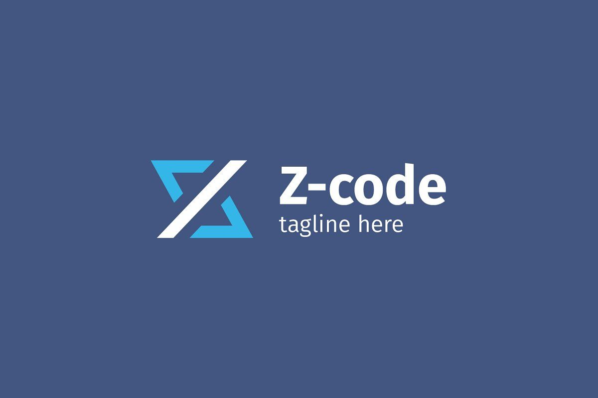Z / Code / Brackets Logo | Coding logo, Coding, Logos