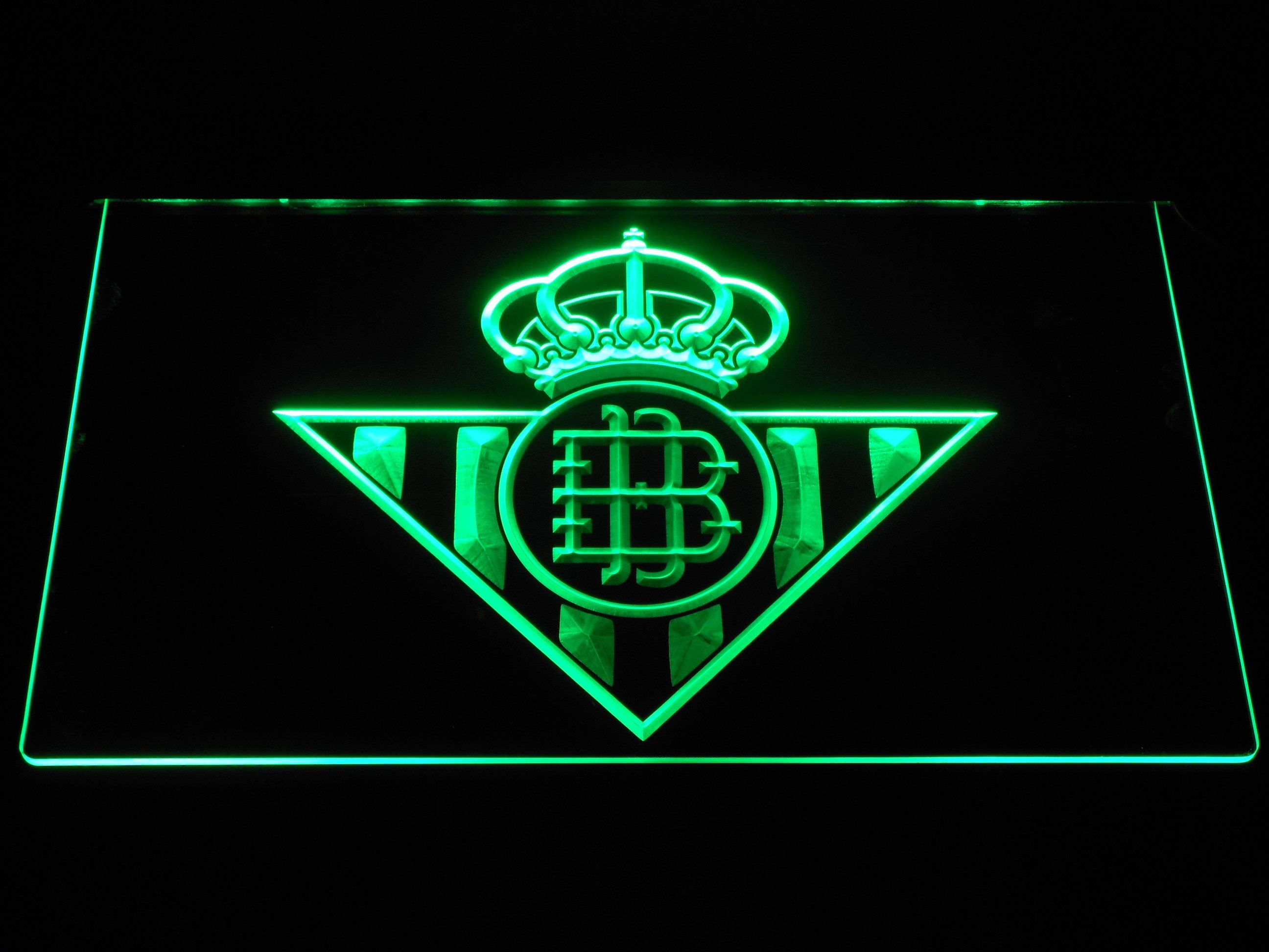 Real Betis LED Neon Sign   Led neon signs, Neon signs ...