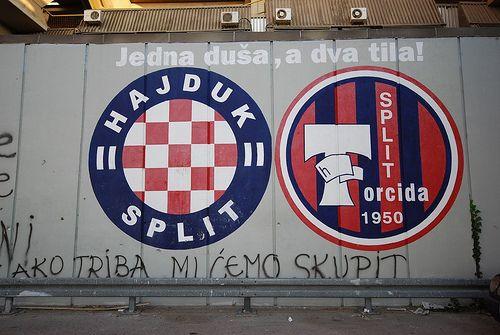 Hajduk Split V Dinamo Zagreb Football Is Life Splits Book Of Life