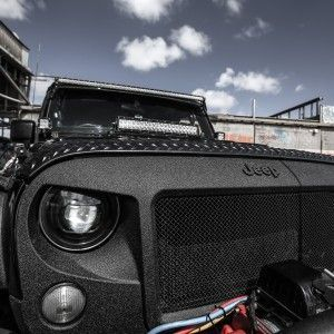 The Original Jeep Wrangler High Flow Angry Grill Increased Air