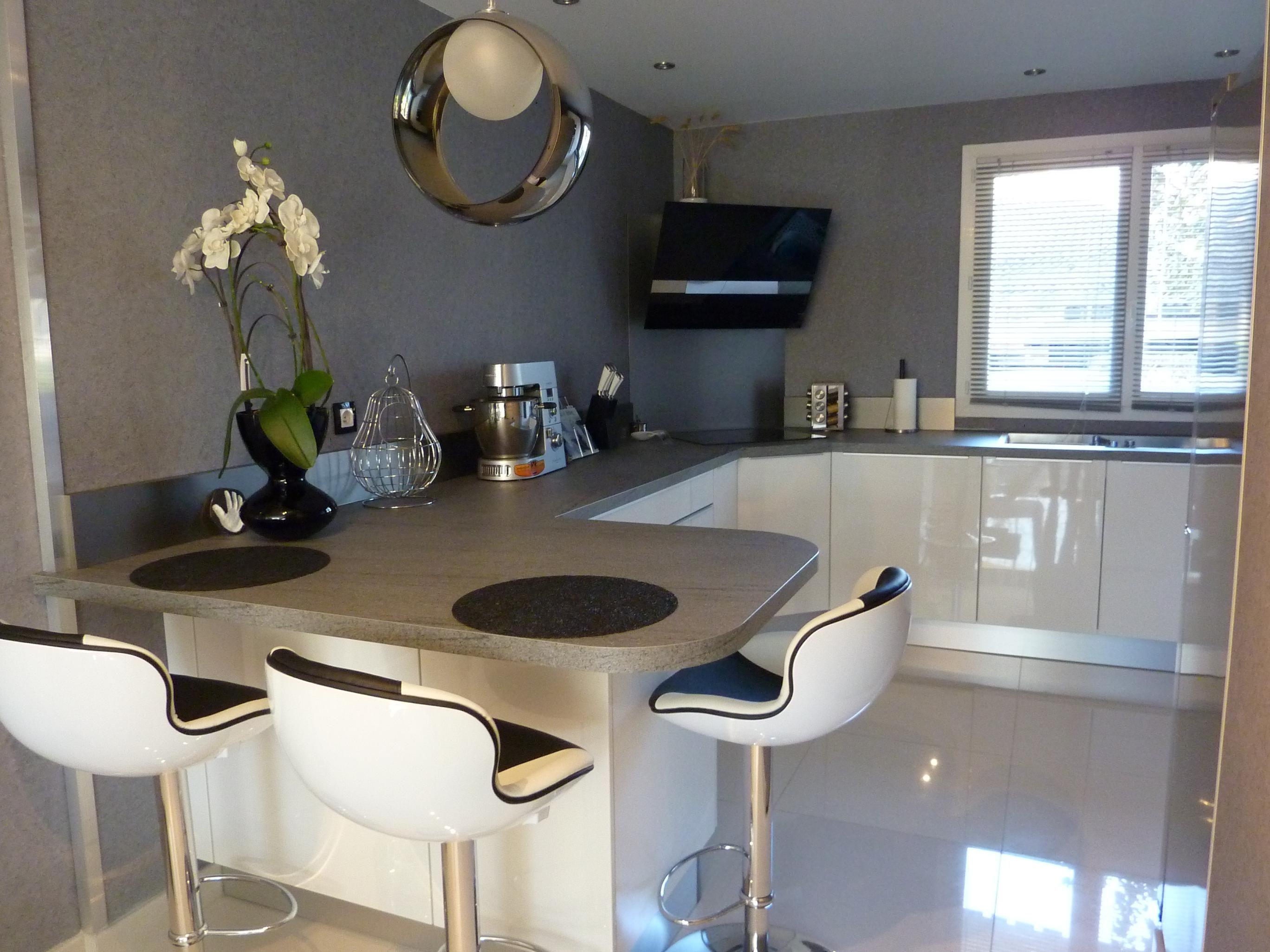 Decoration Salon Blanc Et Taupe | Idées pour la maison | Pinterest ...
