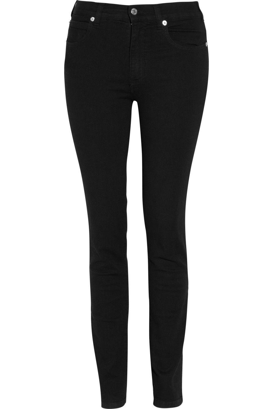 KATHARINE HAMNETT  Amy low-rise skinny jeans  $180