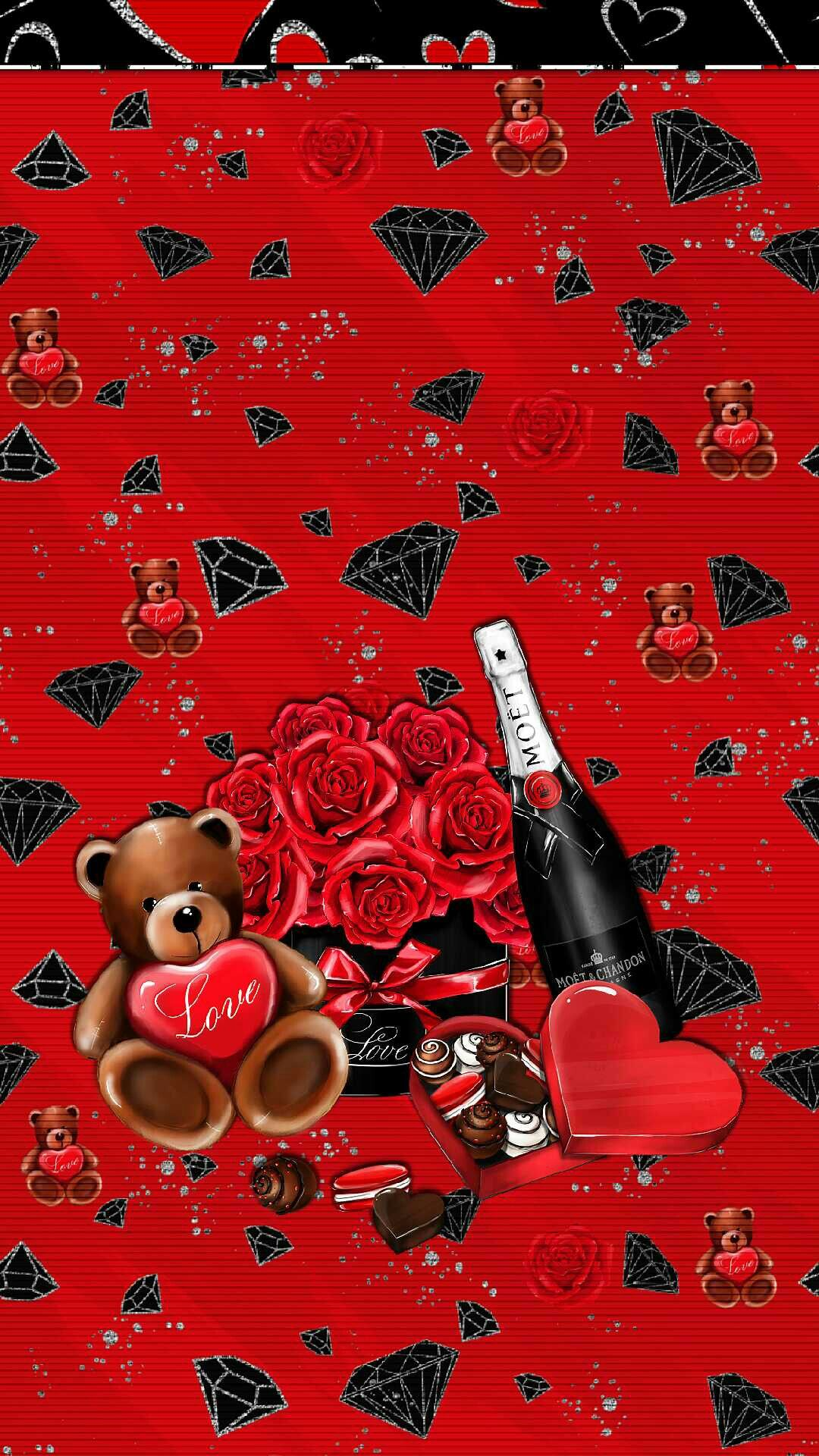 Pin By Angelmom4 On Cute Wallz In 2020 Valentines Wallpaper City Wallpaper Pretty Phone Wallpaper